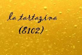 I coloranti alimentari: la tartazina (E102)