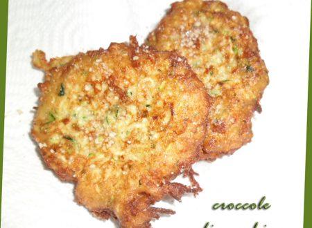 le croccole di zucchine