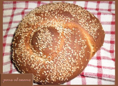 pane ai semi di sesamo