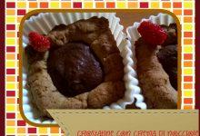 Dolce autunnale: Crostatine al cacao e nocciole