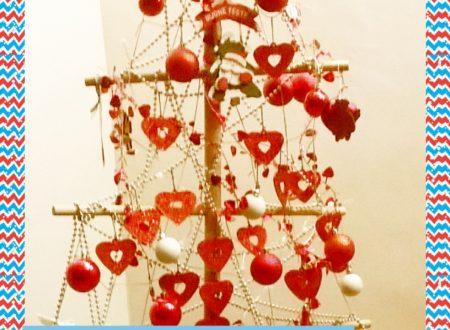 Il nostro albero di Natale, in legno e home-made