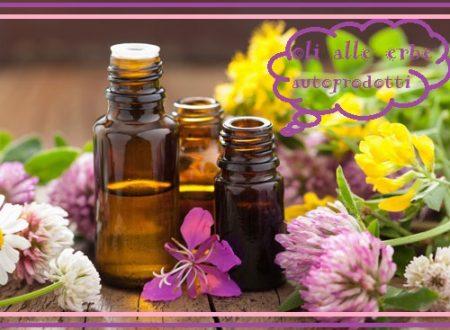 Cura della pelle: oli (oleoliti) alle erbe fai da te
