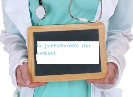 La prevenzione dei tumori
